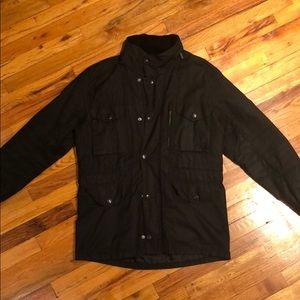 Black Wax Barbour Jacket